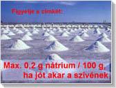 A só emeli a vérnyomást, ezzel szívinfarktust és agyérgörcsöt okoz.