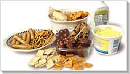 Transz-zsírt tartalmazó ételek